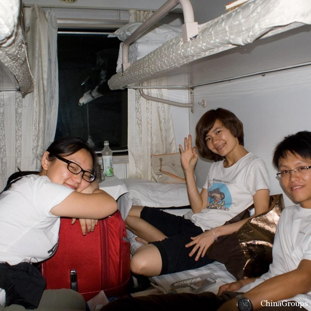 купейные поезда в Китае