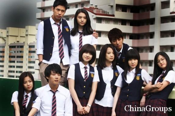 старшая школа в Китае