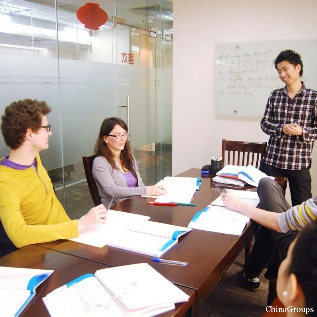 Количество студентов в языковой школе Китая