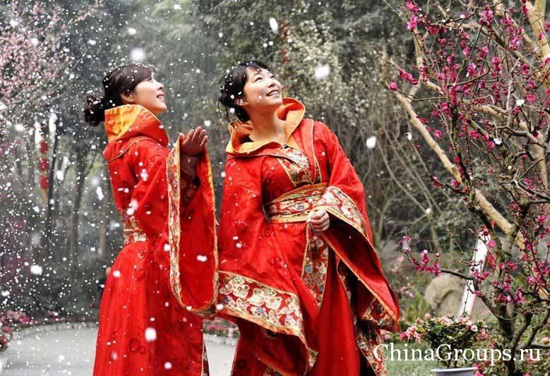 праздник зимнего солнцестояния в Китае