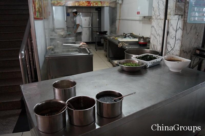 как готовят еду в Китае