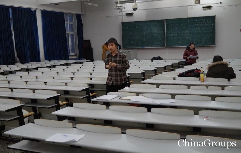 учебная аудитория харбинского инженерного университета