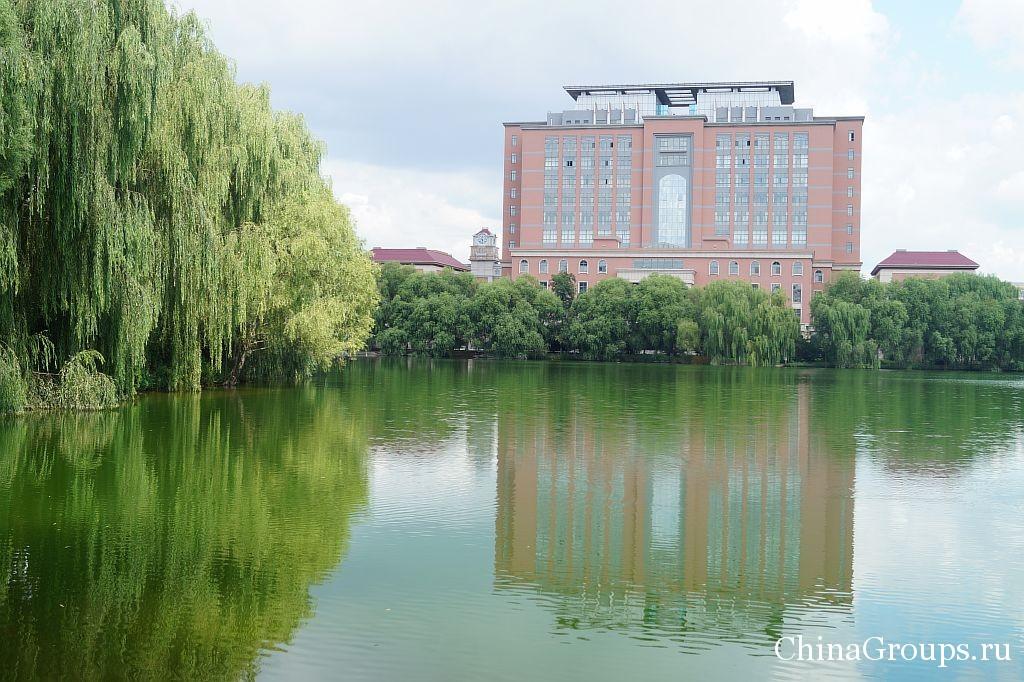 университет Бохай в городе Цзиньчжоу