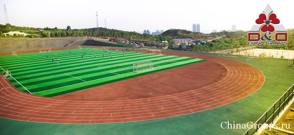 Один из университетских стадионов Лудонга