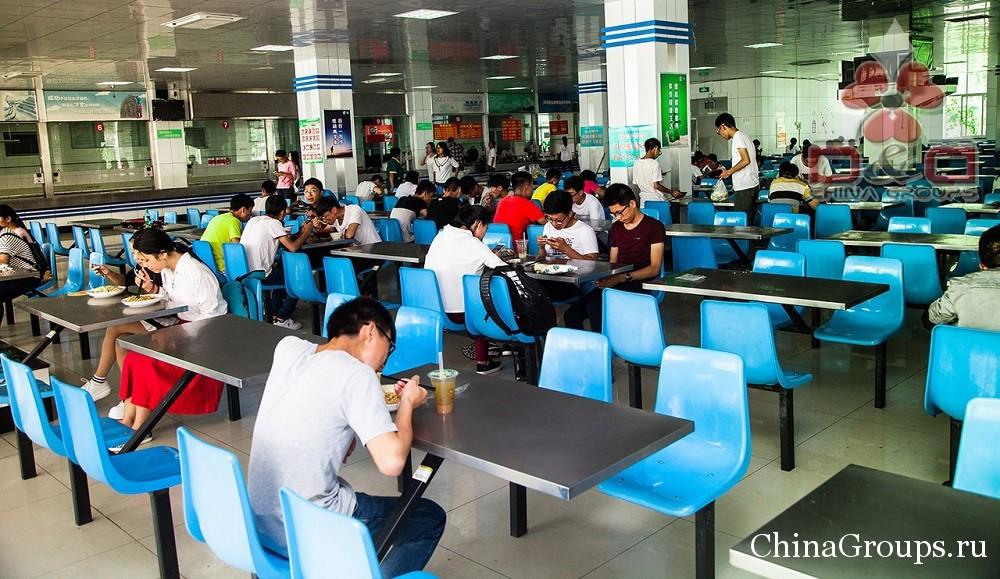 Столовые университета Лудонг