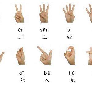 Цифры в китайском языке