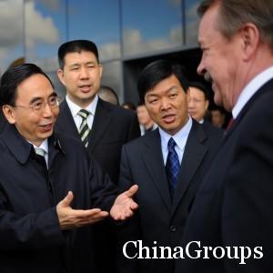 Дистанция при общении с китайцами