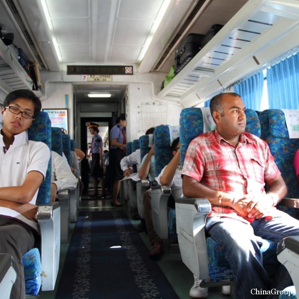 китайские скоростные поезда