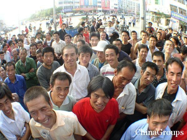 Поведение иностранца в Китае