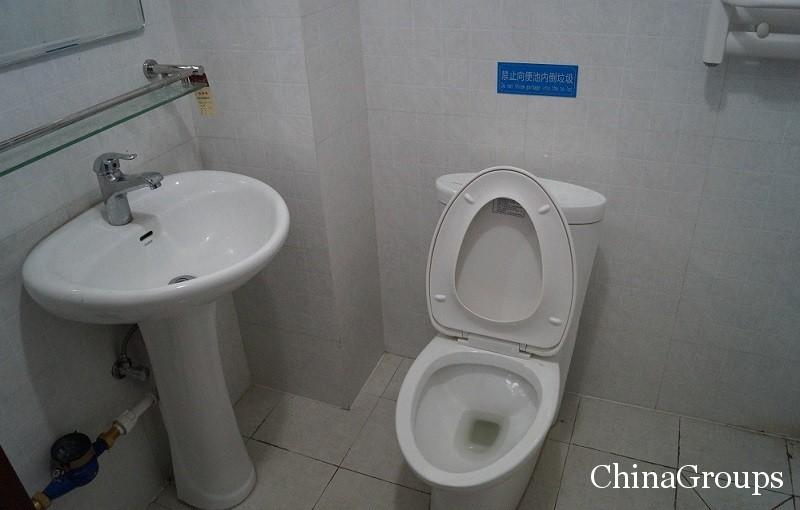 ванная комната в общежитии университета