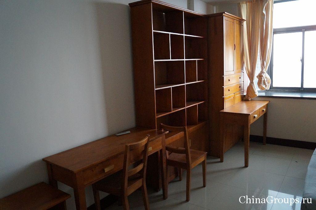 двухместное общежитие института Циньдао