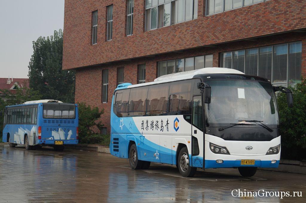 инфраструктура института Циньдао