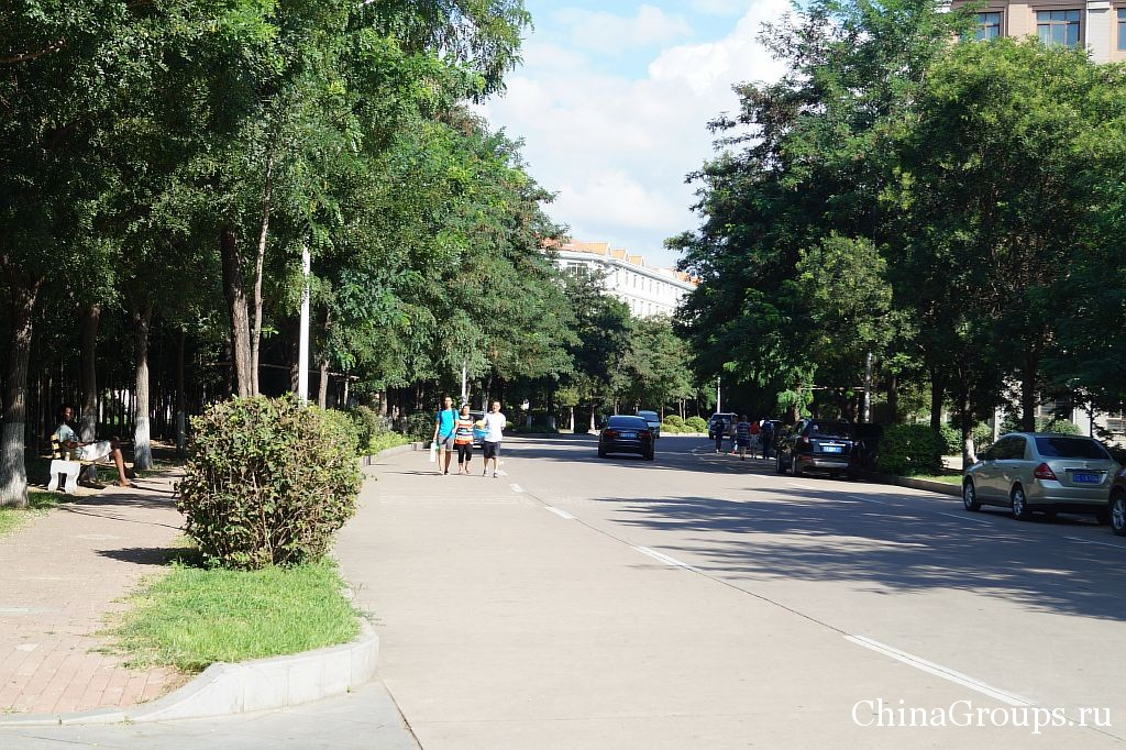 Территория университета Бохай