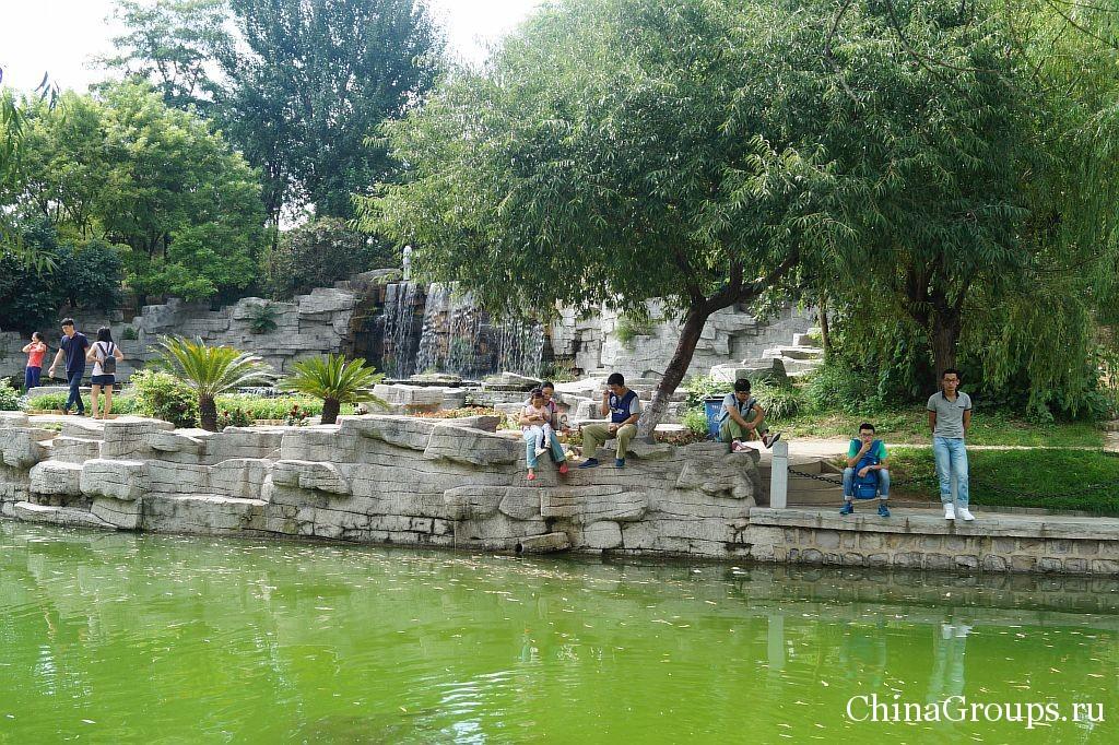 Отдых на воде прямо в университет Бохай