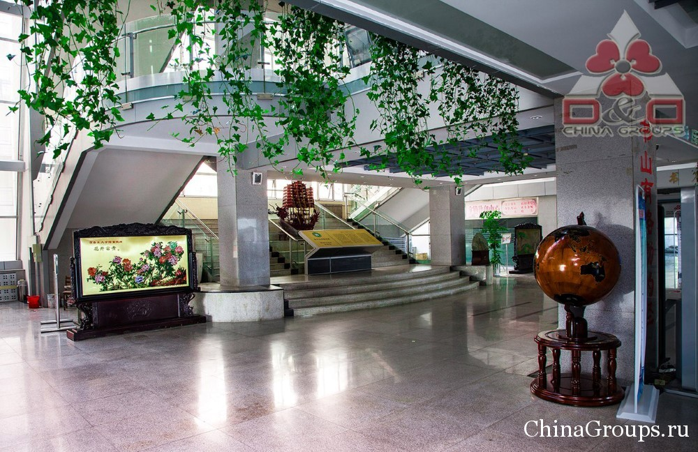 библиотека в университете Лудонг (Яньтай)