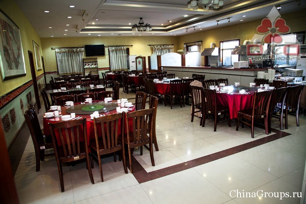 Ресторан на территории университета Лудонг