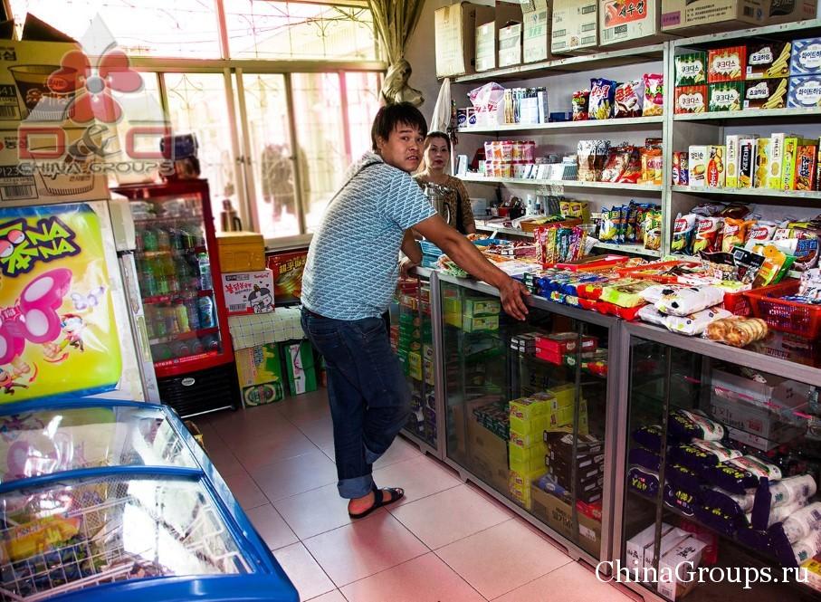 Магазин в общежитии университета Лудонг
