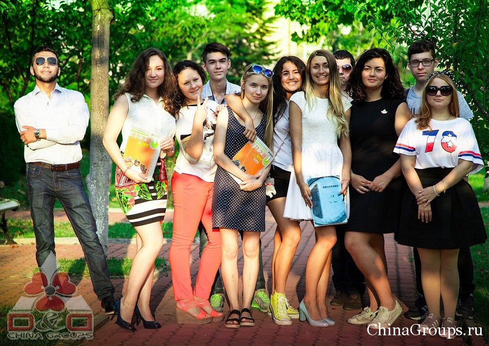 Студенты университета Лудонг