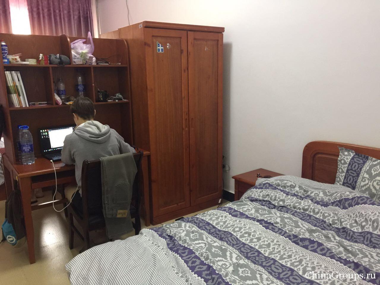 Комната в общежитии ЛУНиТ