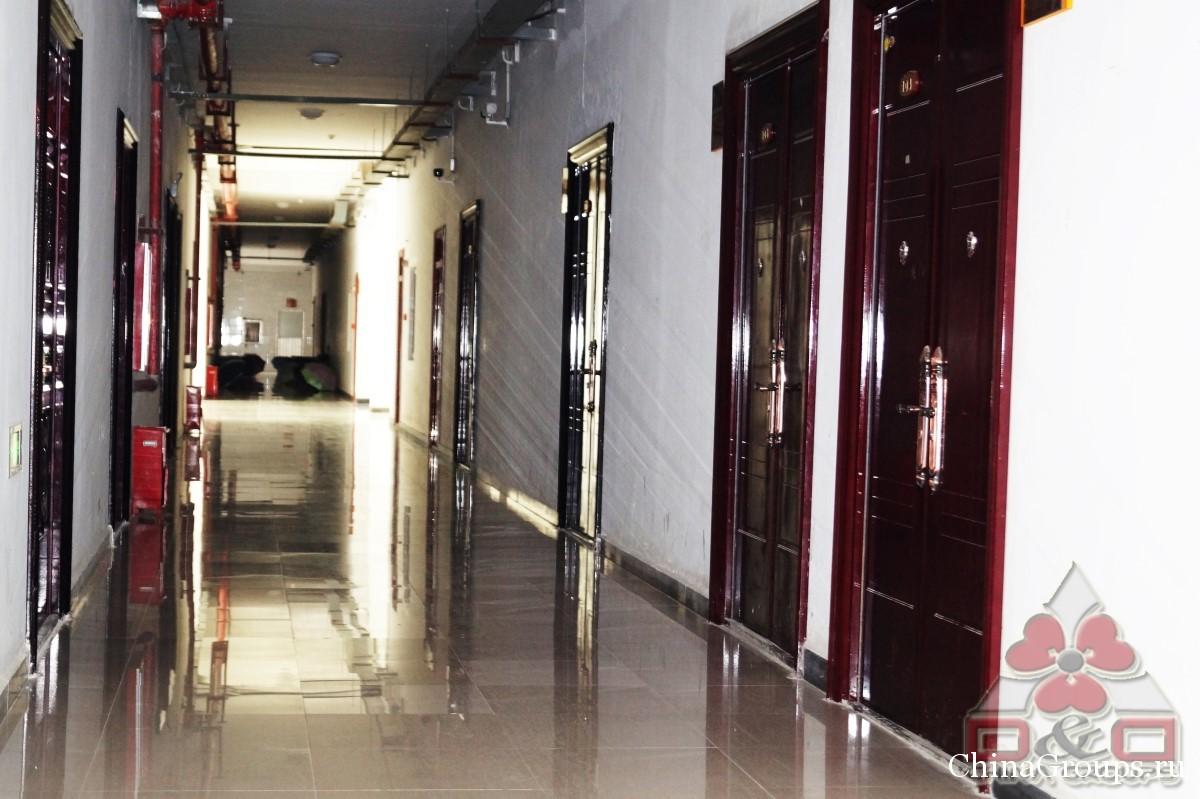 Институт Тунжень общежития общий коридор