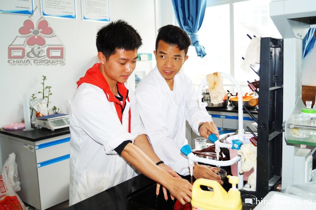 Институт Тунжень студенты подготовка к работе