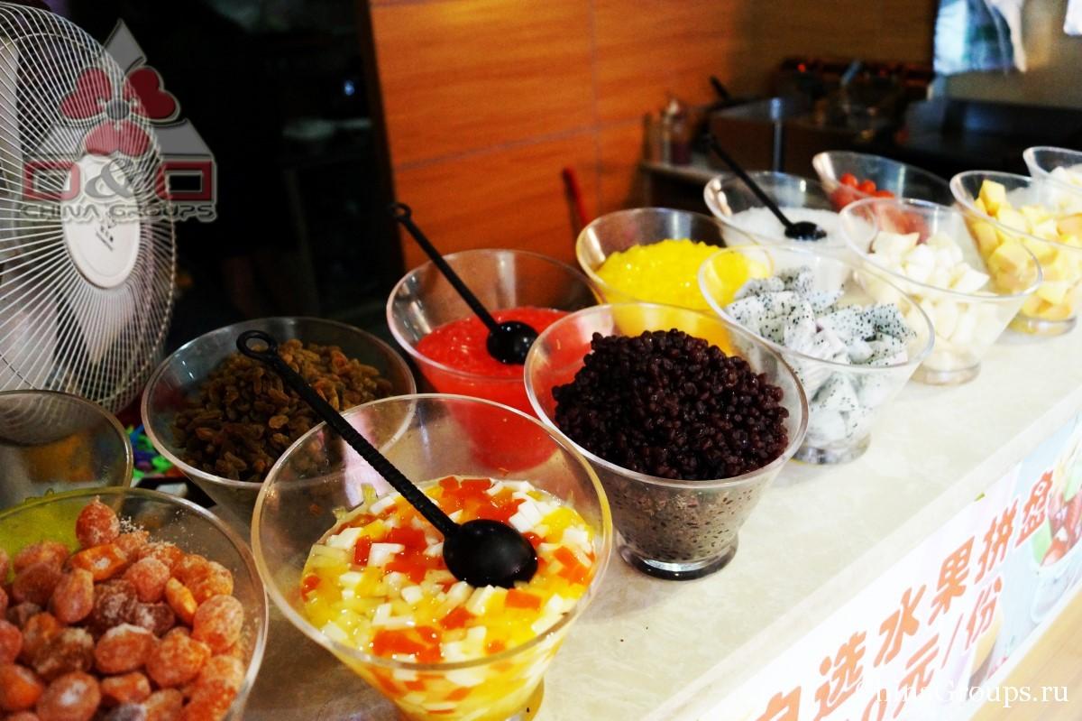 Институт Тунжень сладкие закуски