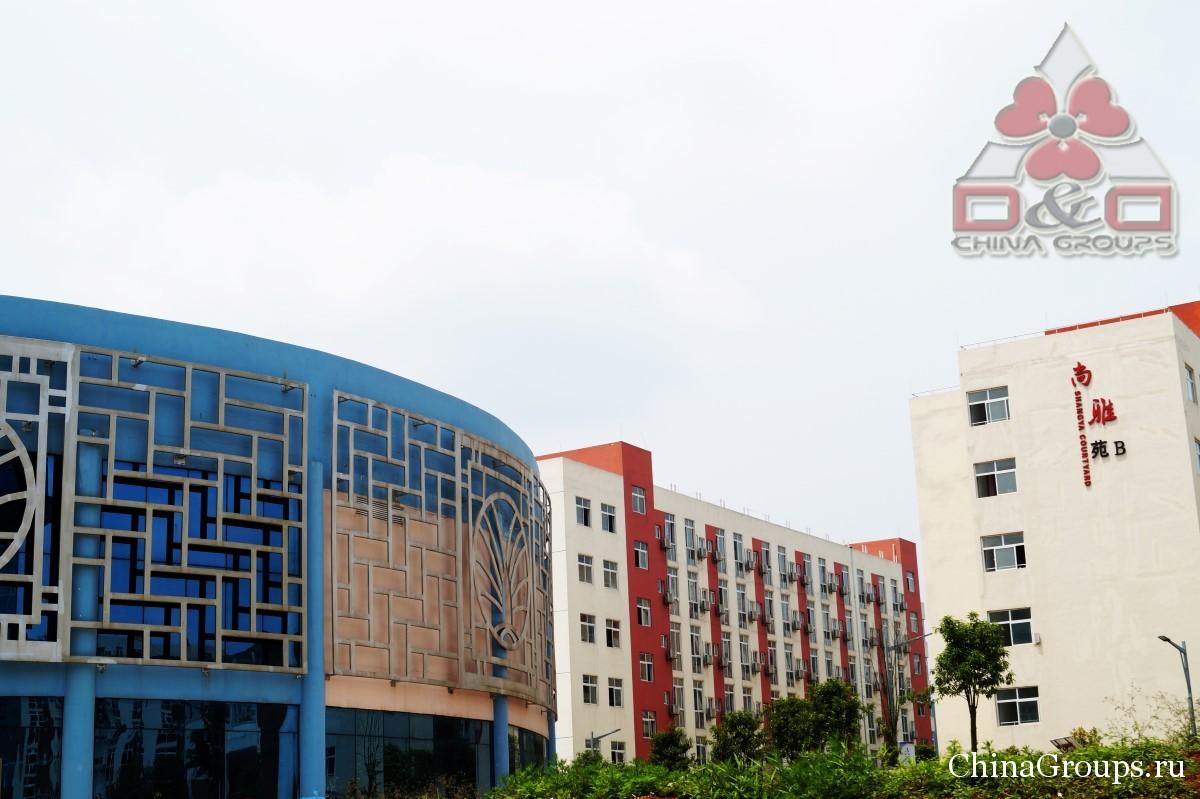 Институт Тунжень территория кампуса несколько зданий кампусов