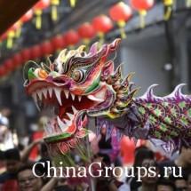 Символ Поднебесной – дракон китайский